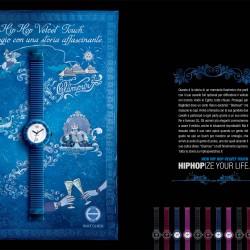 Hip Hop Velvet Touch Blu